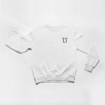 sweatshirt L.I. logo (white black)