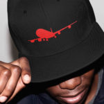 Lifestyle International single plane Snapback ( black red )