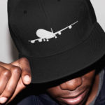 Lifestyle International single plane Snapback ( black white)