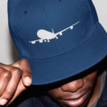Lifestyle International single plane Snapback ( navy white)
