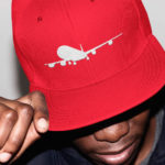 Lifestyle International single plane Snapback ( red white)