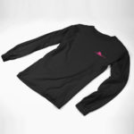 longsleeve SINGLE PLANE logo ( black pink)