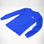 longsleeve SINGLE PLANE logo (royal white)