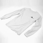 longsleeve SINGLE PLANE logo (white black)